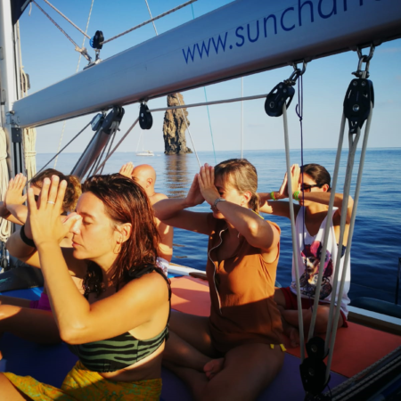 Yoga and Sail
