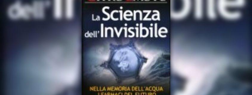 la scienza dell'invisibile, libro di massimo citro e Masaru Emoto