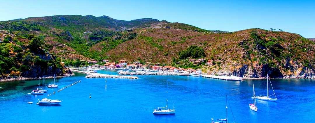 Arcipelago Toscano in Barca, Vela e Yoga