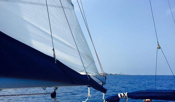 Barca a vela isole Egadi in cabincharter