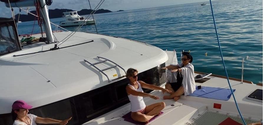 Vacanza Yoga in Catamarano